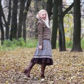 Твидовая юбка на зиму