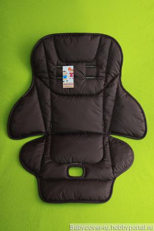 Чехлы на стульчики для кормления ручной работы на заказ