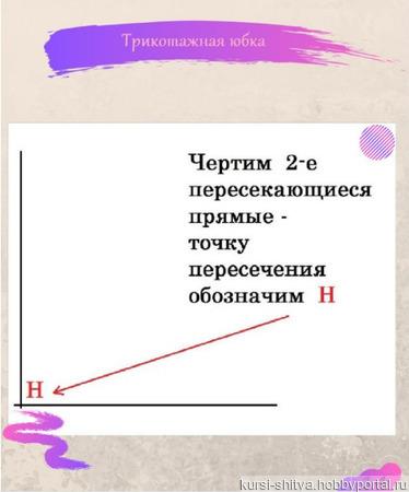 """Мастер-класс """"Трикотажная юбка"""" ручной работы на заказ"""