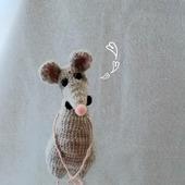 Интерьерная игрушка Крыс