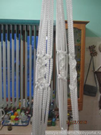 Кашпо бескаркасное плетеное ручной работы на заказ