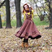 фото: платье на зиму