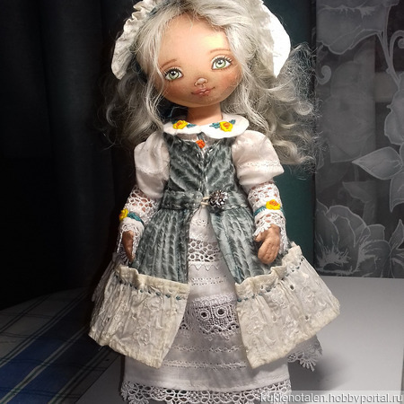 Авторская кукла Марафоночка ручной работы на заказ