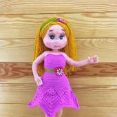 Вязаная куколка Василиса