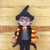 Гарри Поттер, вязаная кукла
