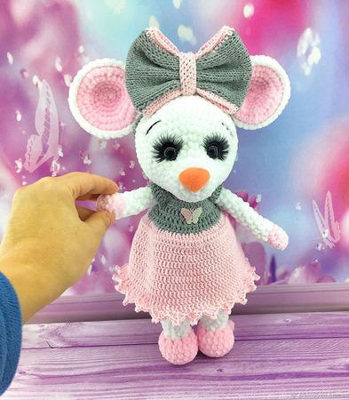 Мышка Машенька ручной работы на заказ