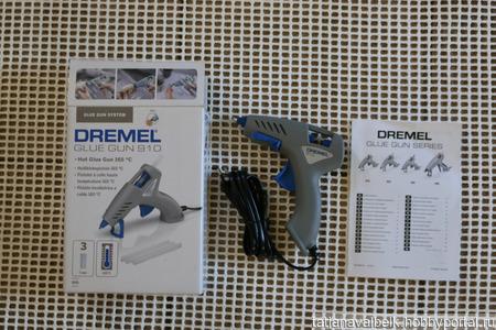 Клеевой пистолет Дремель Dremel 910 JC ручной работы на заказ