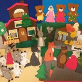 Большой набор сказок - Курочка Ряба,  Колобок, Теремок, Три медведя, Волк и семеро козлят