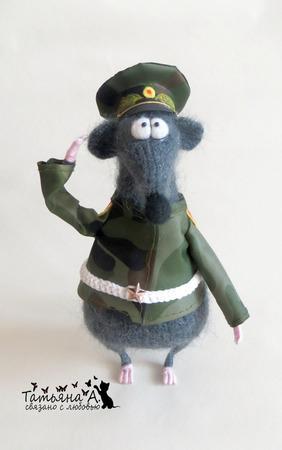 Крыс военнослужащий ручной работы на заказ