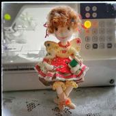 Интерьерная кукла фея Швейка