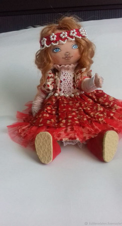 Авторская кукла Алина ручной работы на заказ