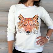 Свитшот с лисичкой