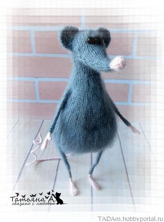 "Мастер-класс ""Крысуля"" ручной работы на заказ"