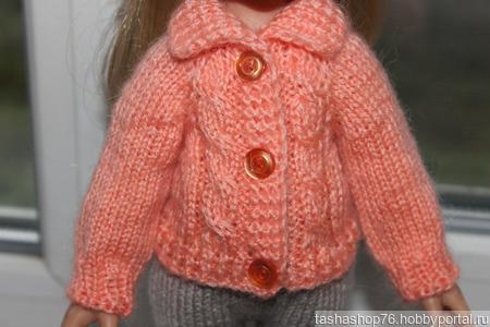 Кофточка для куклы ручной работы на заказ