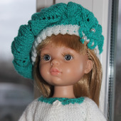 Комплект из 3-х вещей для куклы