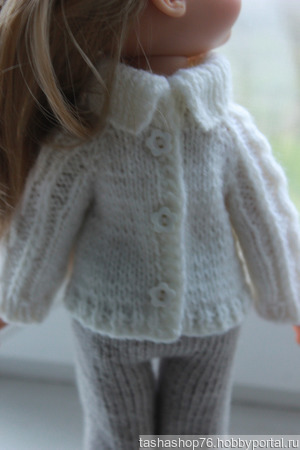 Свитерок для куклы ручной работы на заказ