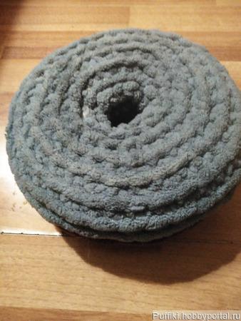 Подушка-пончик гипоаллергенная ручной работы на заказ