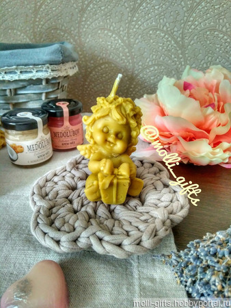 Ангел с подарком ручной работы на заказ