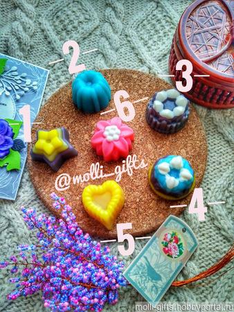 Мыло-мини конфетки ручной работы на заказ