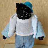 Текстильный кот в стиле Тильда