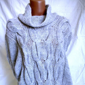 Вязаный свитер из мохера в Москве