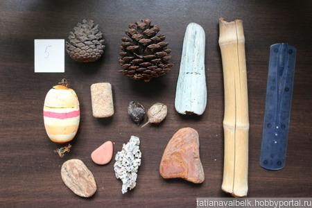 Морские находки набор 5 дерево шишки, ракушки и т.п ручной работы на заказ