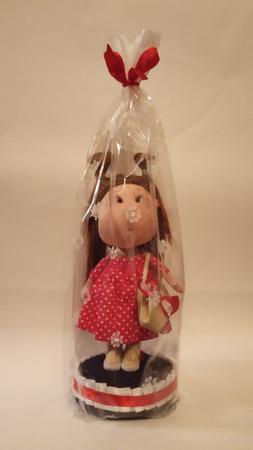 Кукла щекастик ручной работы на заказ