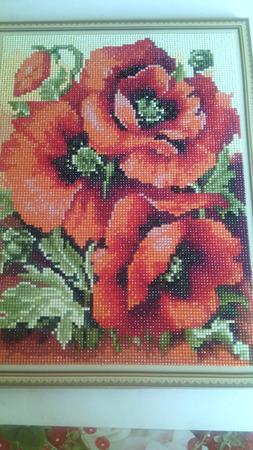 Картины Алмазная вышивка ручной работы на заказ