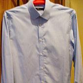 Мужская рубашка х/б с длинным рукавом