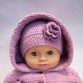 Комбинезон + шапочка и носочки для малыша