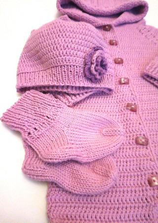 Комбинезон + шапочка и носочки для малыша ручной работы на заказ