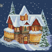 """Схема для вышивания """"Уютный Новый год"""""""