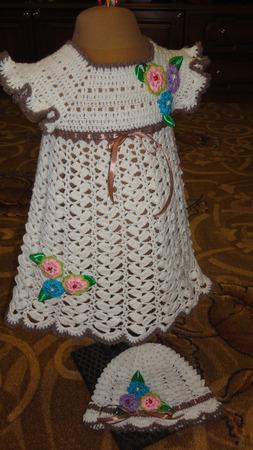 Платье для малышки ручной работы на заказ