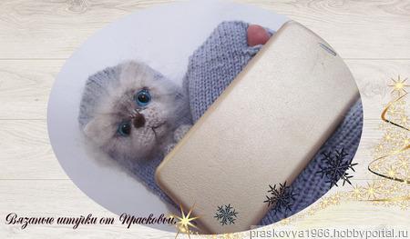 """Звероварежки  """"Котята"""" (для телефона и смартфона) ручной работы на заказ"""