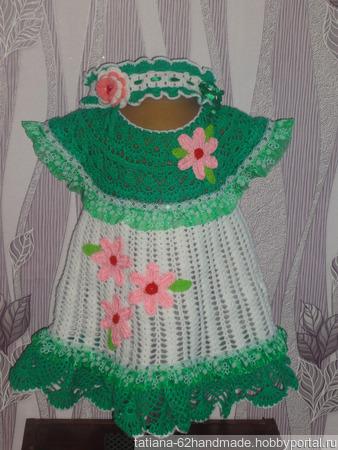 """Платье """"Веселая полянка"""" ручной работы на заказ"""
