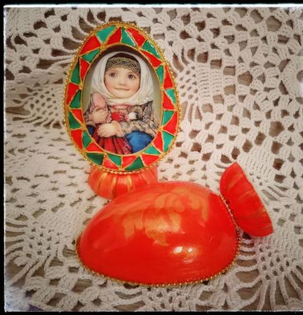 """Яйцо пасхальное """"Мечты сбываются"""" ручной работы на заказ"""