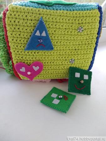 Развивающий кубик ручной работы на заказ