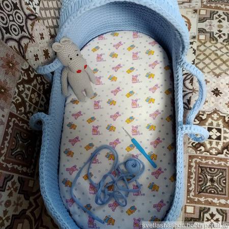 Люлька для малыша ручной работы на заказ