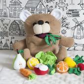 """Развивающая игрушка """"Медведь проглот"""""""