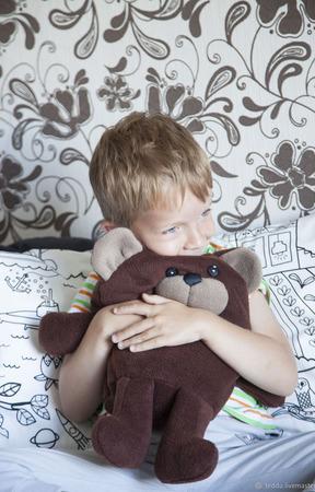 """Развивающая игрушка """"Медведь проглот"""" ручной работы на заказ"""
