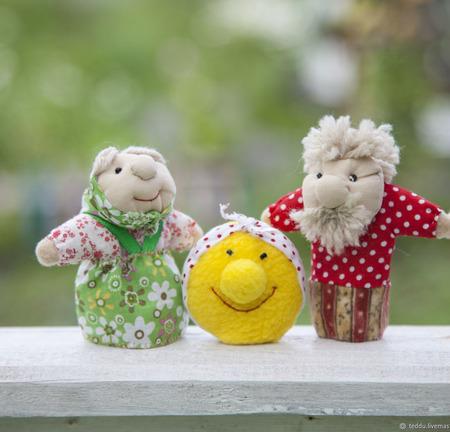 Пальчиковые куклы ручной работы на заказ