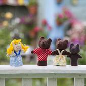 """Пальчиковый театр """"Три медведя и Машенька"""""""
