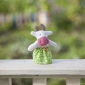 Пальчиковая игрушка Корова