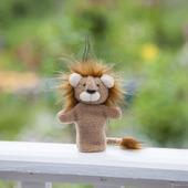 Пальчиковая игрушка Лев