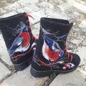 """Ботинки """"Снегири"""""""