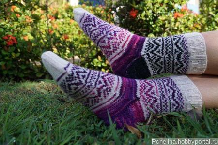 Носки женские ручной работы ручной работы на заказ