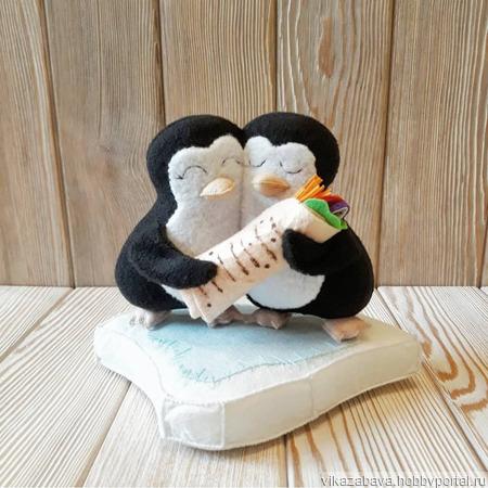 Пингвины-неразлучники ручной работы на заказ