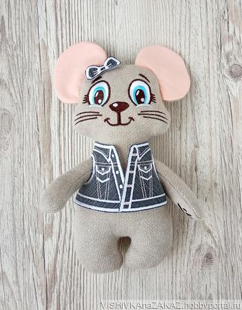 Мышка, символ нового года ручной работы на заказ