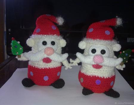 Гном Санта ручной работы на заказ