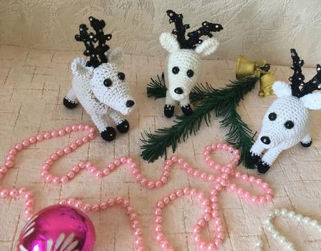 Рождественский олень ручной работы на заказ